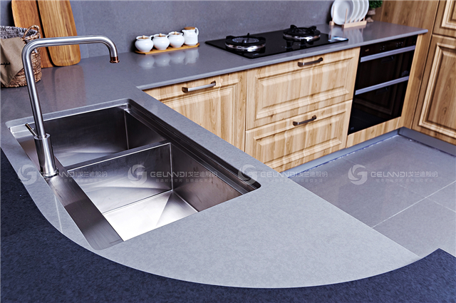 grey galaxy quartz countertop